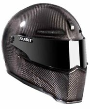 Bandit casco Alien 2 II carbon motocicleta Casco casco integral con ECE 22.05 talla L 59/60