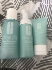 Clinique Anti Blemish Solutions Cleansing Foam Clarifying Lotion Treatment Set