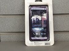 Authentic Verizon Silicone Cover: HTC One X - Purple (NEW) High Gloss