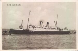 Postcard Shipping Ferries R.M.S Isle of Sark Real photo Unposted