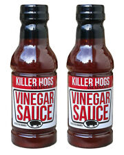 Killer Hogs VINEGAR Barbecue Sauce 18 oz (2 Pack)