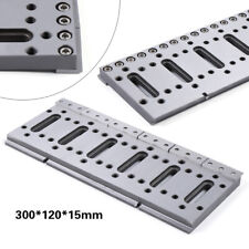 1x Wire Edm Fixture Board Stainless Jig Jigger For Clamping & Level 300x120x15mm