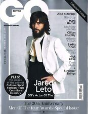 GQ UK October 2017 Men of the Year Awards JARED LETO Mark Hamill IGGY POP @NEW@
