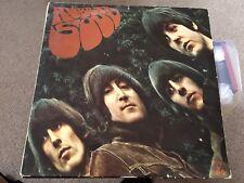 The Beatles Rubber Soul 1st Pressing McCartney Lennon Vinyl
