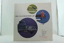 VINTAGE AUTOMOBILE CAR BROCHURE 1963 OLDSMOBILE