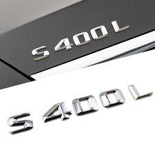 E799 S400L Emblem Badge auto aufkleber 3D Schriftzug car Sticker S 40 S40 S400