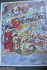 "Plakat: Clown Dimitri ""Portrait de famille"", Kunstdruck, Bild, Poster,"