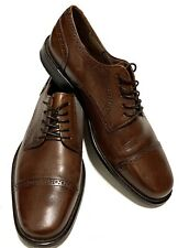 Bostonian Mens Dress Shoes Size 11M Brown Leather Oxford Made In Italy