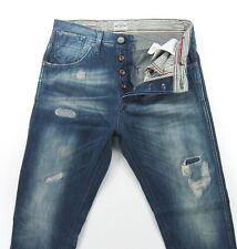 Jack and Jones ERIK ANTI FIT WORKER VINTAGE Distressed Slim Fit  size 29 / 32
