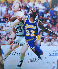 Magic Johnson Signed 16x20 Photo Lakers