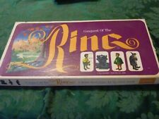 Vintage Conquest of the Ring Hobbit Board Game 1970 LOTR Rare Tolkein Lord RIngs