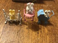 Vintage Avon Easter Ornaments Lot Of 3