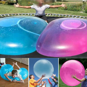 Large Amazing Water Bubble Ball Inflatable Balloon Rubber Kids Children Game Toy