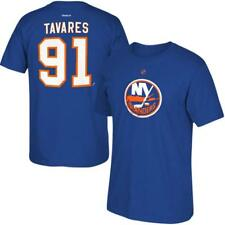 Reebok New York Islanders Blue Men 2XL TShirt John Tavares Short Sleeve *1K