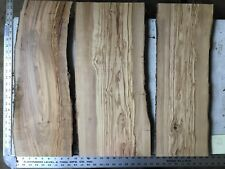 3 Olive Wood Boards Lumber  O4