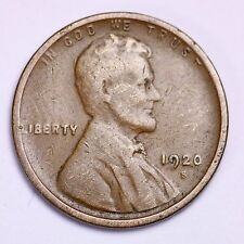 1920-S Lincoln Wheat Cent Penny LOWEST PRICES ON THE BAY!  FREE SHIPPING!