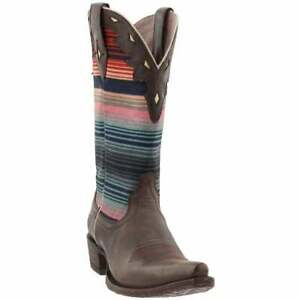 Ariat Circuit Serape Snip Toe   Womens  Western Cowboy Boots   Mid Calf  - Multi