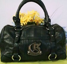 "Women's Super Cool Large Black ""GUESS"" Designer Satchel Bag Purse"