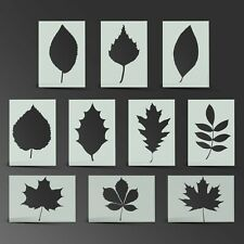 Leaf Stencil Leaves Autumn Mylar Sheet Painting Wall Art Craft 190 Micron