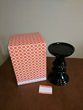 NIB Gold Canyon Tall Black Stand for Candles
