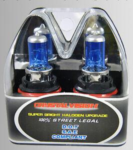 9004 HB1 100W Xenon HID Halogen Upgrade Super White Direct Replace Light Bulb A4