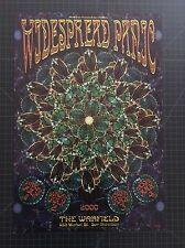 Widespread Panic Summer Tour 2000 Poster San Francisco 2000 Chris Shaw Bgp # 241
