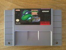 TMNT NINJA TURTLES - TOURNAMENT FIGHTERS - Super Nintendo SNES - NTSC USA