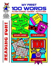 Kindergarten, First Grade Reproducible MY FIRST 100 WORDS (NEW)