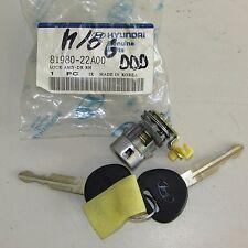 Blocchetto cilindro serratura destra 81980-22A00 Hyundai/ Kia (9253 4-1-C-6c)