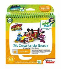 LeapFrog LeapStart Nursery Book: Pit Crews to the Rescue 3D **BRAND NEW**