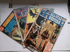 DC: ALL STAR WESTERN #10-12+JONAH HEX #1, 1ST-3RD APPEARANCES, 1972, FN- (5.5)!!
