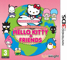 around the world with hello kitty and friends 3ds