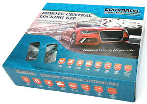 Command Remote Central Locking Kit With Immobiliser & Alarm 4 Door