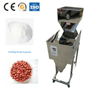 10g-2kg Automatic Weight Granule Powder Filling machine for Rice by sea