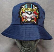 guns n roses bucket hat fishing cap sun music festival axl slash med large  skull 833034aba20c