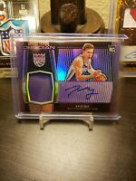 2019-20 Panini Obsidian Kyle Guy Purple RPA 73/75 Rookie Patch Auto