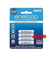 Sanyo Eneloop 800mAh AAA LSD Precharge NiMH Rechargeable Battery HR-4UTGB 4pc 3A
