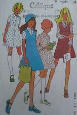 """Vintage Maudella Girl's Pinafore Blouse Skirt Sewing Pattern 5896 Chest 27-30"""""""