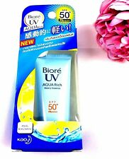 2017KAO Biore UV Aqua Rich Watery Essence Sunscreen Sunblock SPF50+/PA++++15 ml.