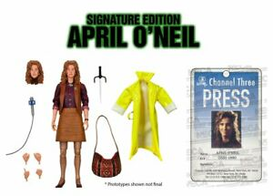 NECA TMNT Ultimate April O'Neil Signature Edition LE 2000 Judith Hoag Pre order