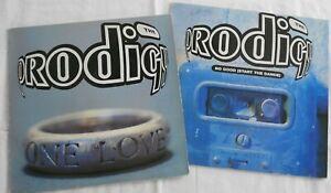 2 vinyles Electro Prodigy 12'' 33t  one love / no good