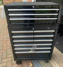 Halfords Advanced Tool Chest & Cabinet 3+6 Drawers BLACK - RRP £425 heavy duty