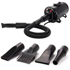 Portable Dog Cat Pet Grooming Hair Dryer Blow Blaster Hairdryer Blower 4 Nozzles