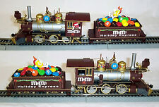 NEW BACHMANN HO HAWTHORNE VILLAGE M&M'S HOLIDAY EXPRESS TRAIN SET 4 ISSUES