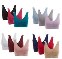 """Rhonda Shear """"Ahh"""" Bra With Removable Pads-Choose Size & Color (1 Bra Only)"""