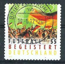 E.4 - BRD Bund 2012 Fußball Deutschlandt Mi.2936 SKB Vollstempel LUXUS!