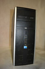 UC HP 8000  ELITE  CORE 2 DUO E8400 3.00 4 GB RAM 250 HDD CARTE GRAPHIQUE