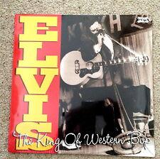 "ELVIS PRESLEY ""THE KING OF WESTERN BOP"" VINYL DOUBLE LP 33RPM NEW SEALED"