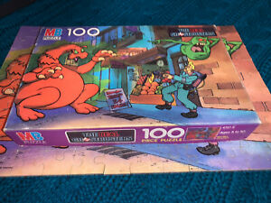 Vintage Milton Bradley The Real Ghostbusters 100 Piece Puzzle 4757-2