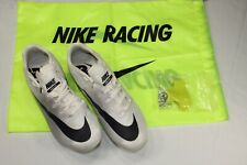 Nike Zoom JaFly 3 Track & Field Spikes Size 4 White/Black/Grey 865633-001